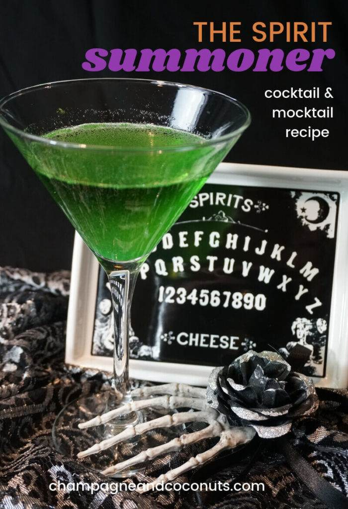 The Spirit Summoner cocktail and mocktail recipe