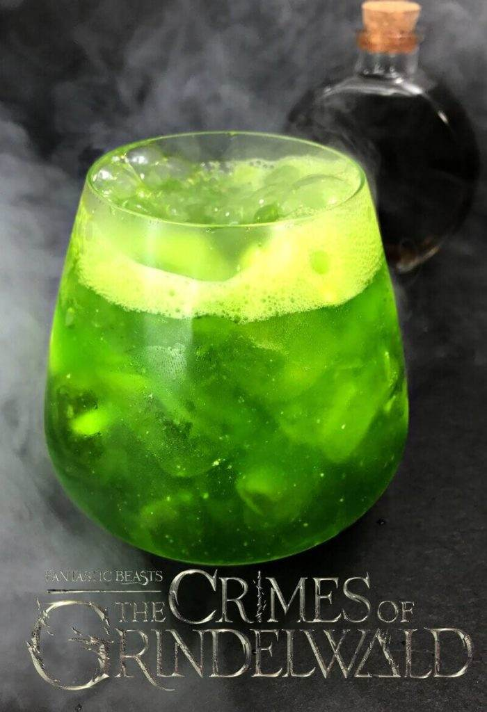 Fantastic Beasts Crimes of Grindelwald Cocktail Recipe
