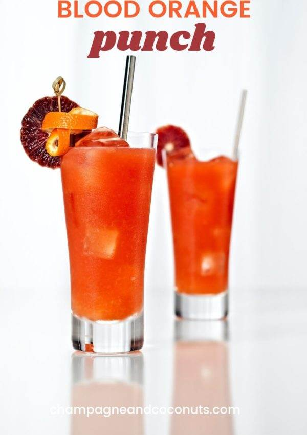 Blood Orange Punch recipe with Ron Abuelo Anejo Rum